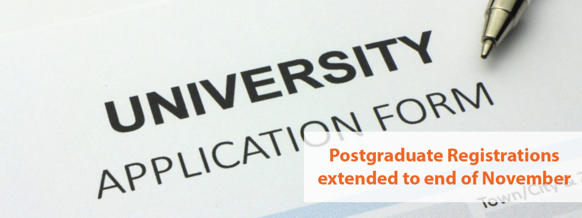 Thinking of applying to our Postgraduate Programme?